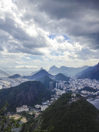 View from Sugar Loaf in Rio de Janeiro, Brazil