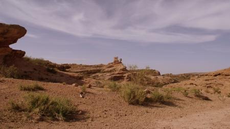 desert in Mendoza, Argentina