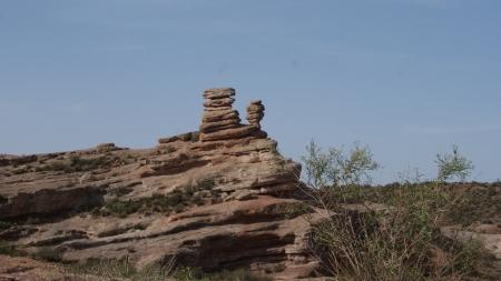 rocks in Mendoza, Argentina