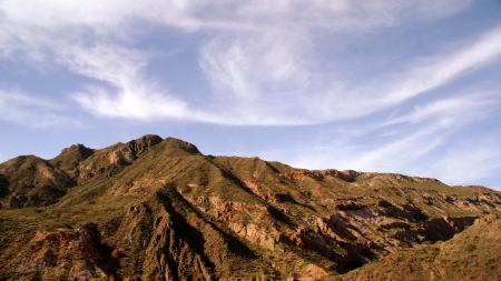 mountain in Mendoza, Argentina