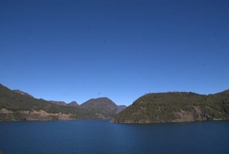 Lake in Patagonia, Argentina