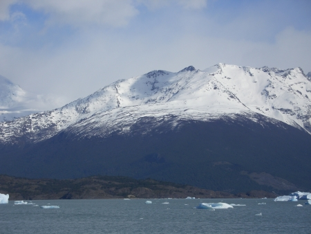 mountain in Calafate Stock Photo