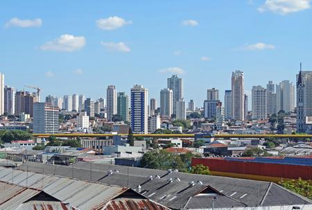 Panoramic view of the Ipiranga neighborhood in Sao Paulo, Brazil