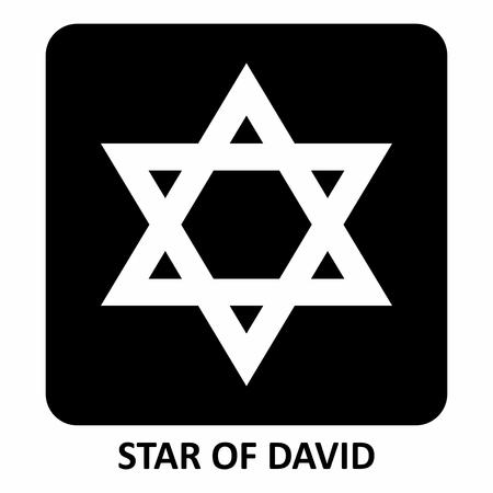 Star of David illustration Stock Vector - 118475408