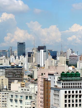 Sao Paulo downtown view Reklamní fotografie