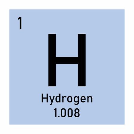 Abbildung des Wasserstoffsymbols