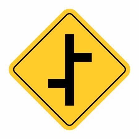 Junction Traffic Road Sign