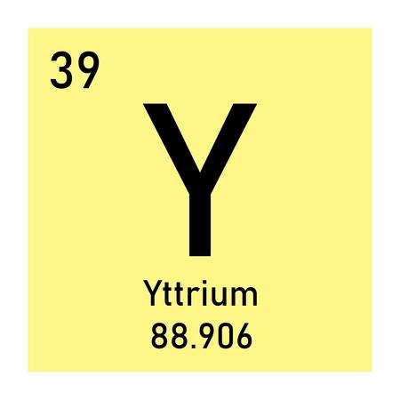 Yttrium chemical symbol