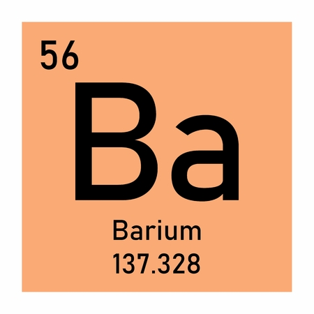 Barium chemical symbol