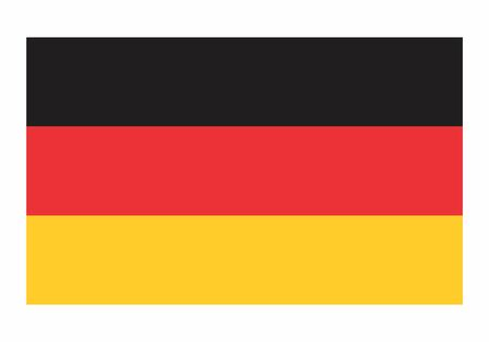 Germany flag illustration