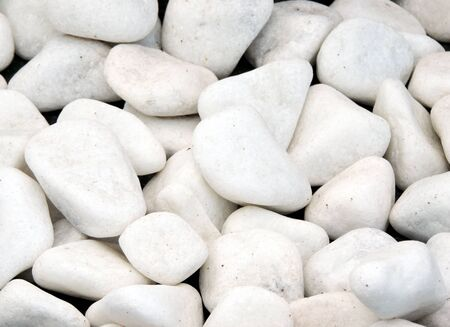 A background image of rounded white stones Stok Fotoğraf