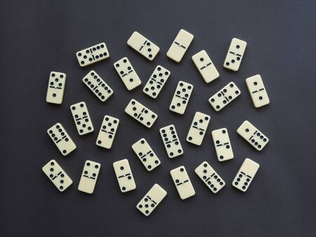 Domino pieces set