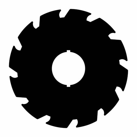Industrial saw icon
