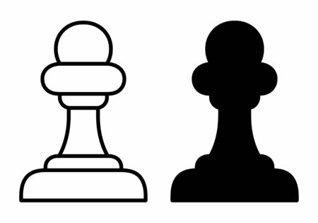 Chess pawn icons