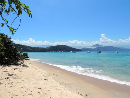 A Beautiful beach in Anchieta Island, Ubatuba, Brazil