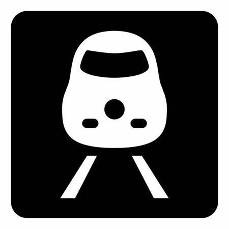 Train icon illustration Ilustração