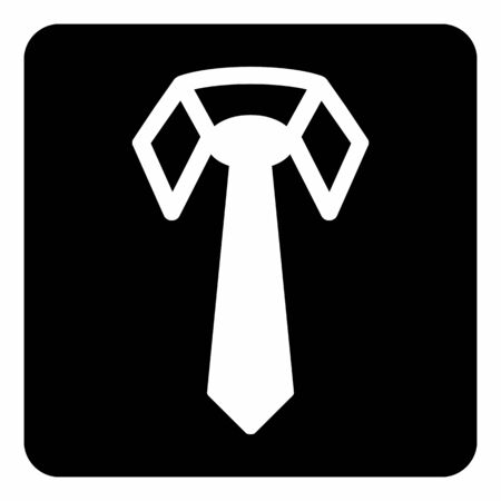Tie icon illustration