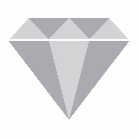 Diamond icon illustration Illustration