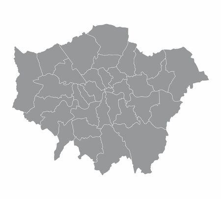 London regions map