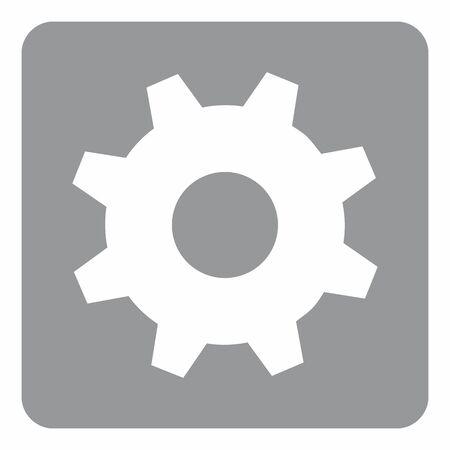 Cog icon illustration