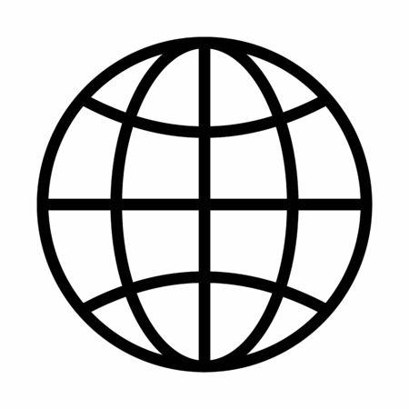 Globe Icon illustration Ilustração