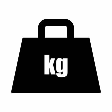 Weight kilogram icon