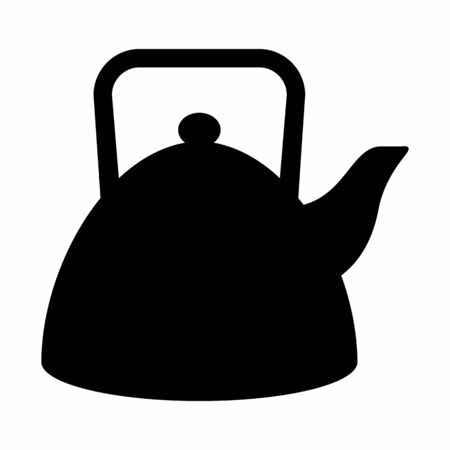 Teapot icon illustration
