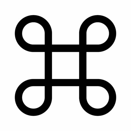 Looped Square Icon