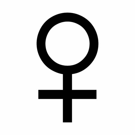 Venus symbol illustration