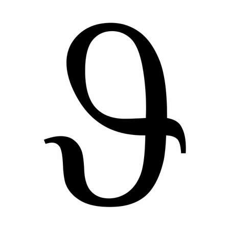 Theta variant greek letter icon