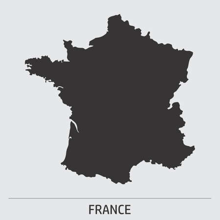 France map icon Ilustrace
