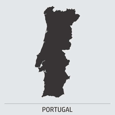 Portugal map icon