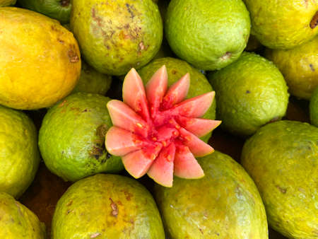 Cut Guava fruit