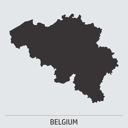 Belgium map icon