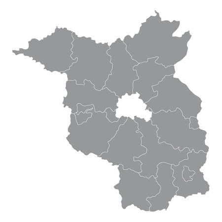 Brandenburg districts map