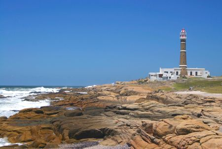 cabo: lighthouse at Cabo Polonio, Uruguay