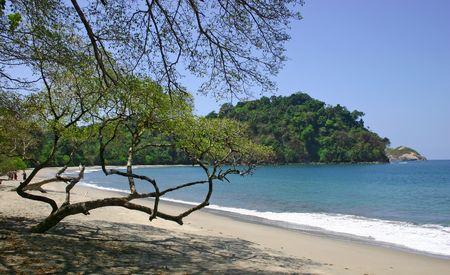 Beach at the Parque Nacional Manuel Antonio - Costa Rica