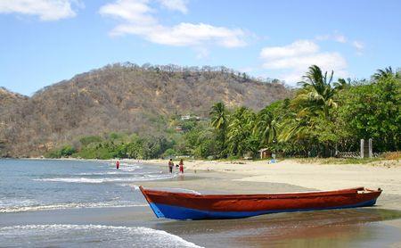 Playa Hermosa, Guanacaste - Costa Rica Stock Photo