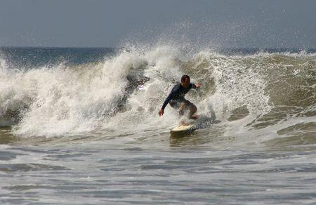 Surfer  Standard-Bild - 398417