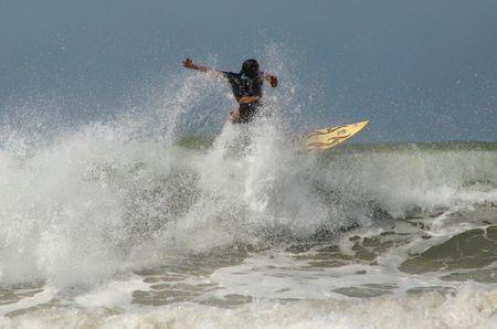 Surfer  Standard-Bild - 398416