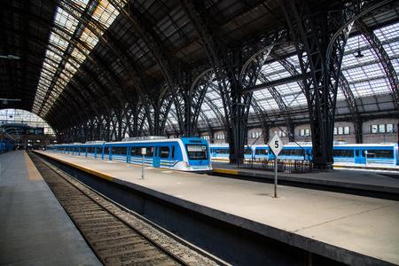 Train station, Buenos Aires, Argentina Editöryel