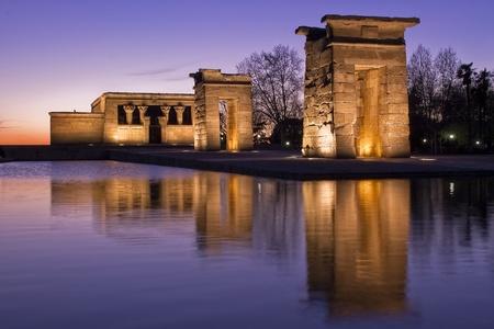 Temple of Debod Banco de Imagens