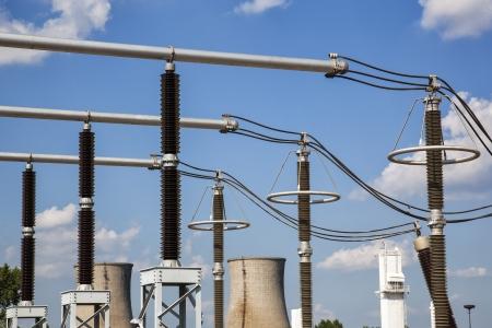 surge: Electrical insulators and surge arrestors