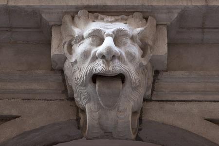 gargoyle: Gargoyle sticking out the tongue