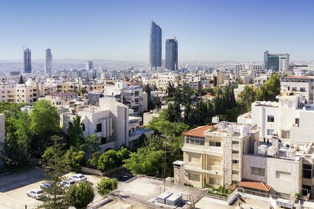 Amman city view, in Jordan