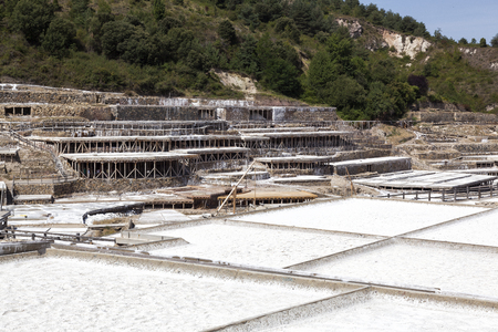 Located in the salt valley of Añana, these salt production pans are one of the oldest salt production facilities in the world; with origins that go back about 6,700 years