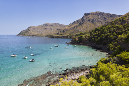 Small bay in Majorca, Spain