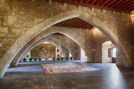 Royal Palace of La Almudaina, in Majorca, Spain