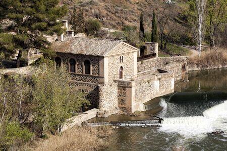 Old watermill in Toledo, Spain
