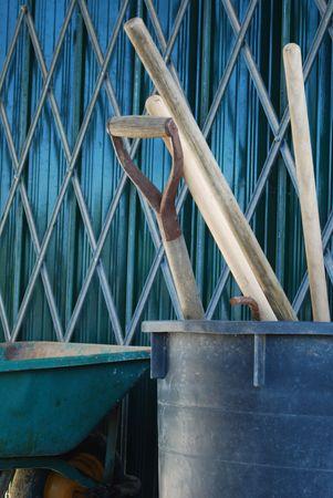 Herramientas de Trabajo de Agricultura Foto de archivo - 4663228